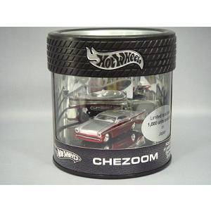 マテル ホットウィール 1/64 CHEZOOM レッド/シルバー|kidbox