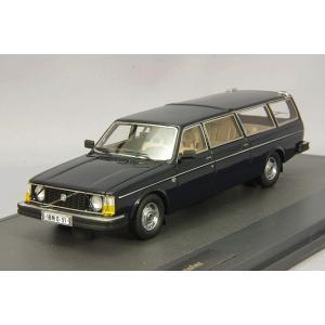 MATRIX 1/43 ボルボ 265 トランスファー ロングホイールベース 1978 ブルー|kidbox