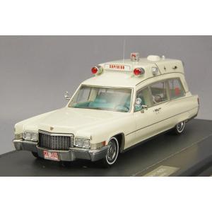MATRIX 1/43 キャデラック スーペリアー 51+ 救急車 1970 ホワイト|kidbox
