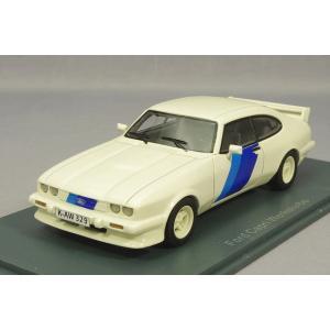 ・☆ NEO 1/43 フォード カプリIII ターボ Ford Motor Sport 1981 ホワイト|kidbox