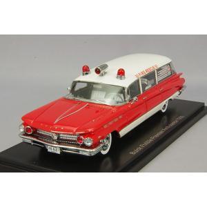 ・☆ NEO 1/43 ビュイック エレクトラ ステーションワゴン 救急車 1960