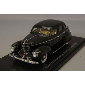 ☆ NEO 1/43 グラハム 97 スーパーチャージャー 4ドア ツーリングセダン 1936 ブラック|kidbox