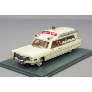 ・☆ NEO 1/87 キャデラック S&S 救急車 1966 ホワイト kidbox