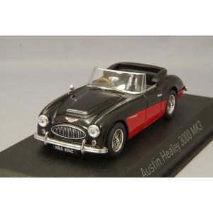 ノレブ 1/43 オースチン ヒーレー 3000 MK3 1964 ブラック/レッド kidbox