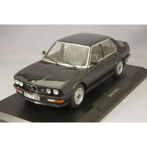 【決算セール〜9/30】ノレブ 1/18 BMW M535i 1986 メタリックブラック|kidbox