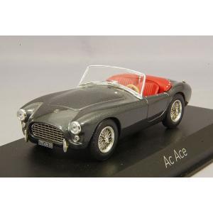 【決算セール〜9/30】ノレブ 1/43 AC エース 1957 メタリックグレー|kidbox