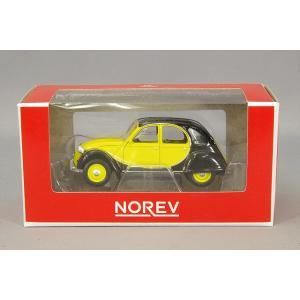 ノレブ 1/64 シトロエン 2CV チャールストン 1982 ブラック/イエロー|kidbox