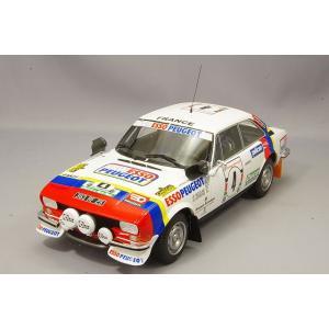 ☆ オットー 1/18 プジョー 504 Gr.4 クーペ V6 1978 サファリ ラリー ウィナー #4 J-P.ニコラス/J-C.Lefebvre kidbox