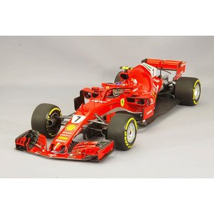 ☆ BBR ミニチャンプス製 1/18 フェラーリ SF71-H スクーデリア フェラーリ 2018 F1 オーストラリアGP #7 K.ライコネン kidbox