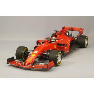 【決算セール〜9/30】☆ ミニチャンプスxBBR 1/18 スクーデリア フェラーリ SF90 2019 F1 ベルギーGP #5 S.ベッテル|kidbox