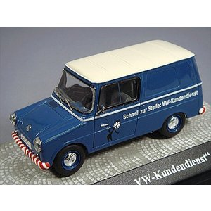 ☆ PremiumClassiXXs 1/43 フォルクスワーゲン Fridolin 'VW-Service'ブルー/ホワイト|kidbox