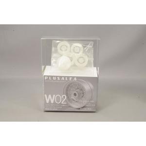 ☆ PLUSALFA 3DCAD/3Dプリンタ プロダクト 1/24 かっぱ式ワイヤーホイール組立キット W02 300SLR対応|kidbox
