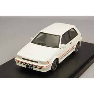 ☆ MARK43 1/43 トヨタ カローラ FX-GT (AE82) 純正オプションホイール装着車 ホワイト|kidbox