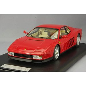 ☆ MARKx京商 1/18 フェラーリ テスタロッサ 1989 レッド/スクーデリアフェラーリロゴ|kidbox