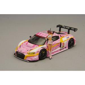 ☆ POP RACE 1/64 アウディ R8 LMS エヴァ RT 正規実用型(ヴィレカスタム) ...
