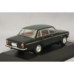 プレミアムX 1/43 ボルボ 144S 1967 ブラック/レッドインテリア 【ダイキャスト製】 kidbox 03