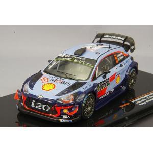 イクソ 1/43 ヒュンダイ i20 WRC  2018年ラリー・モンテカルロ #5 T.Neuville - N.Gilsoul|kidbox
