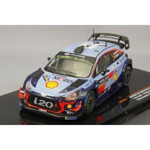 イクソ 1/43 ヒュンダイ i20 WRC  2018年ラリー・スウェーデン 優勝 #5 T.Neuville - N.Gilsoul|kidbox