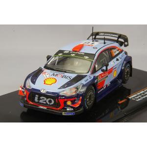 イクソ 1/43 ヒュンダイ i20 WRC  2018年ラリー・ポルトガル 優勝 #16 D. Sordo - C. del Barrio|kidbox