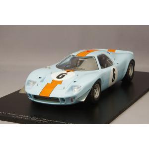 ☆ スパーク 1/18 フォード ミラージュ 1967 スパ 1000km ウィナー #6 J.イクス/D.トンプソン|kidbox