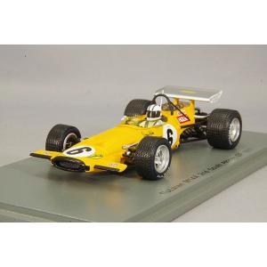 ☆ スパーク 1/43 マクラーレン M14A 1970 F1 南アフリカGP 2位 #6 D.ハルム kidbox