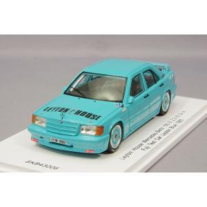☆ 【キッドボックス特注】 スパーク 1/43 レイトンハウス メルセデスベンツ 190 E 2.3-16 Gr.A 1985 富士テストカー|kidbox