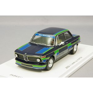 ☆ 【キッドボックス特注】 スパーク 1/43 BMW 2002 ti 1971 tuned by アルピナ|kidbox