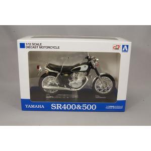 スカイネット 1/12 ヤマハ SR400 & 500 グリタリングブラック|kidbox