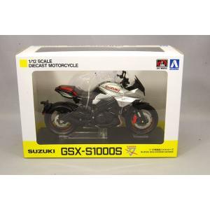 スカイネット 1/12 スズキ GSX-S1000S カタナ フルオプション メタリックミスティックシルバー|kidbox