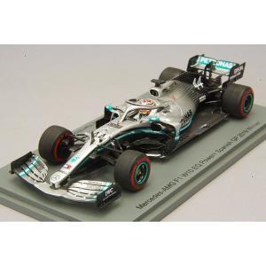 ☆* 【ユーロスポーツ特注】 スパーク 1/43 メルセデス AMG F1 W10 EQ Power+ 2019 スペインGP優勝 L.ハミルトン kidbox