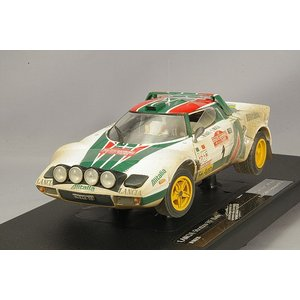 サンスター 1/18 ランチア ストラトス HF 1976 サンレモ ラリー 2位 #1 S.ムナリ/S.マイガ (泥はね仕様) kidbox