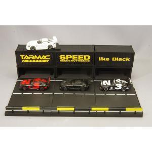 ☆ Tarmac 1/64 メルセデス AMG GT3 #3 ピットジオラマ ボックスセット3|kidbox