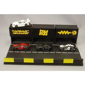 ☆ Tarmac 1/64 メルセデス AMG GT3 #3 ピットジオラマ ボックスセット4|kidbox