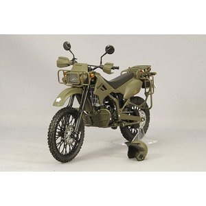【決算セール〜9/30】トミーテック 1/12 陸上自衛隊 偵察オートバイ カワサキ KLX250 DX版|kidbox