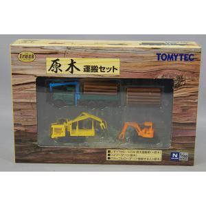 ☆ トミーテック ザ・トラックコレクション 1/150 原木運搬セット|kidbox