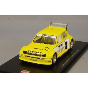 ☆ スパーク 1/43 ルノー Le Car ターボ #77 3位 ロード アトランタ IMSA GTU 1981 ルノーレーシング Patrick Jacquemart kidbox