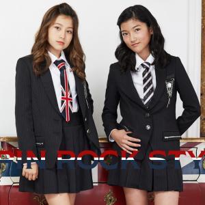 卒業式 小学校 女子 子供服 8901-2503 ダブルタイ ロックスタイルキュロットパンツスーツ ...