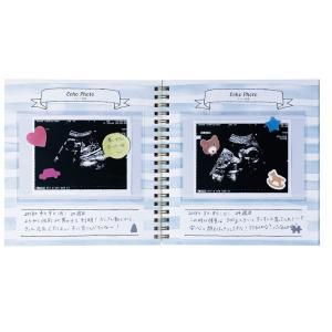 マタニティアルバム エコー写真 超音波 ベビーの誕生もこれ1冊に L版フォトポケット26ページ全32ページ 写真 送料無料 速達|kids-m-yh|04