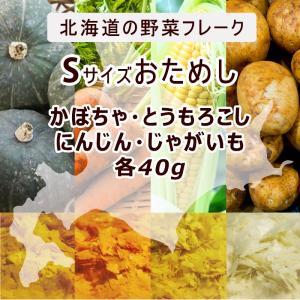 離乳食ベビーフード裏ごし野菜フレーク Sサイズおためし 北海道大望 とうもろこし かぼちゃ じゃがい...