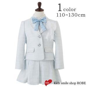 入学式 スーツ 女の子 5点セット ブラックフォーマル デコラピンキーズ 120cm・130cm 入学スーツ 子供服 キッズフォーマル|kids-robe