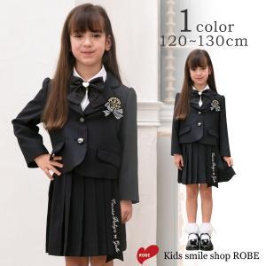 入学式 スーツ 人気ブランドDECORA PINKY'S 女の子 小学生 卒園式 子供服 5点セット 120 130cm フォーマル キッズ 七五三 冠婚葬祭 結婚式|kids-robe