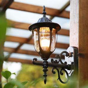 外灯  壁掛けライト レトロ 玄関灯 防水  ポーチライト 庭園灯 アンティーク風 ラケットライト ...