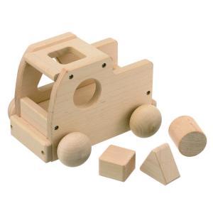 森のメロディートラック 日本製 オルゴール&パズルブロック付き 知育玩具 木製品  無料ラッピング対...
