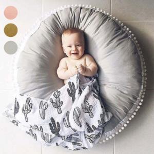 サイズ:直径:約90cm、厚さ:約20cm、重さ:約1500g  材質:表皮:綿、中身:わた  商品...
