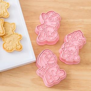 パウパトロール クッキー 型 アイシングクッキーにも 型抜き 製菓 クッキーカッター お粘土遊びの画像
