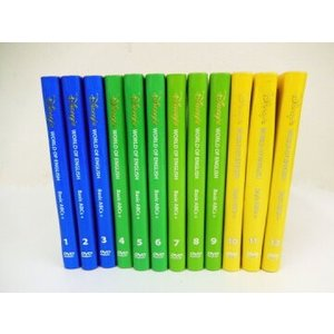 ストレートプレイDVD DVDセット ブラシアート版 ディズニー英語システム ワールドファミリー D...