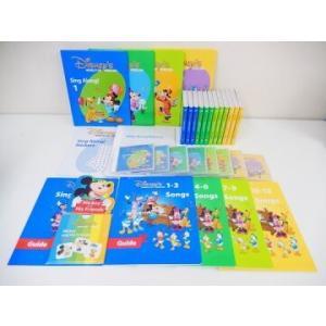 シングアロングセット  DVD12枚版 ディズニー英語システム ワールドファミリー DWE 英語教材...