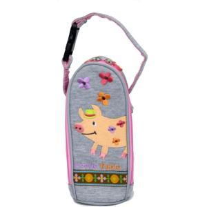 ブタ 哺乳瓶ケース マグポーチ 500mlペットボトルホルダー POETIC ポエティック|kidsfan