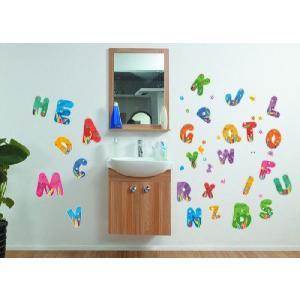 壁紙シール アルファベット|kidsfan