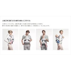 ベビーキャリア ONE+Air シルバー ベビービョルン製抱っこ紐 おんぶ 新生児から 日本正規品 夏快適フルメッシュ クリーニング済み 送料無料 kidsfan 06